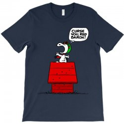 Snoopy: Curse You Red Baron! T-Shirt | Artistshot