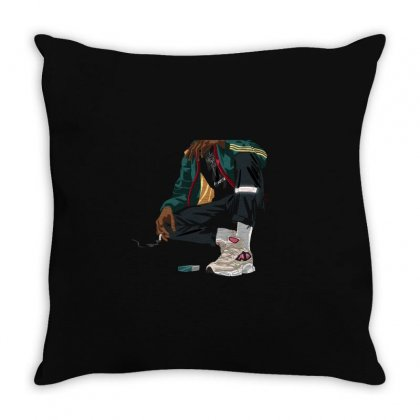 Street Boy Throw Pillow Designed By Disgus_thing