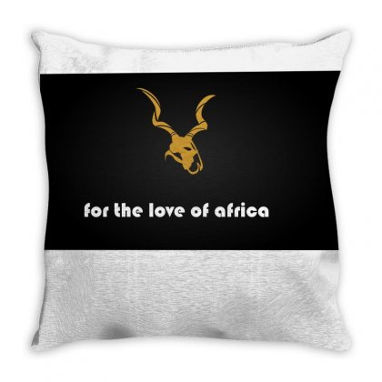 For The Love Of Africa Throw Pillow Designed By Joerell