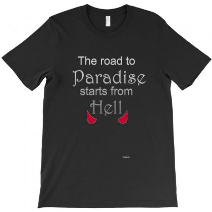 Paradise T-shirt Designed By Mutu_chan
