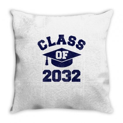 Class Of 2032 Apparel Grow With Me Throw Pillow Designed By Anrora