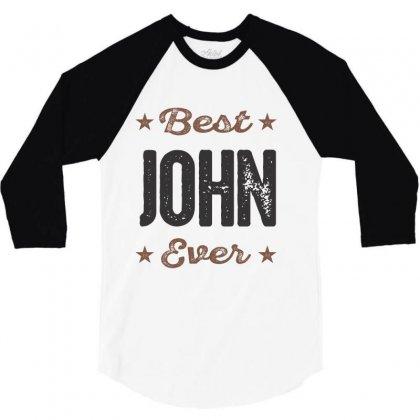 John 3/4 Sleeve Shirt Designed By Chris Ceconello