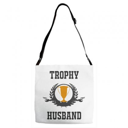 Trophy For Husband Adjustable Strap Totes Designed By Pinkanzee