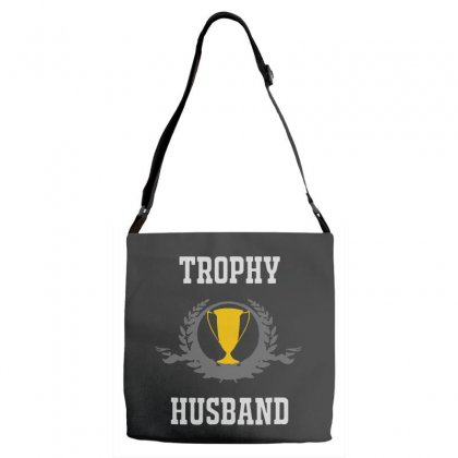 Trophy Husband Adjustable Strap Totes Designed By Pinkanzee