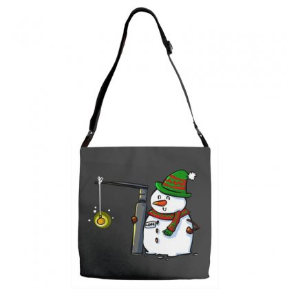 Snowman With A Miller 2 Anesthesia Christmas Adjustable Strap Totes Designed By Pinkanzee
