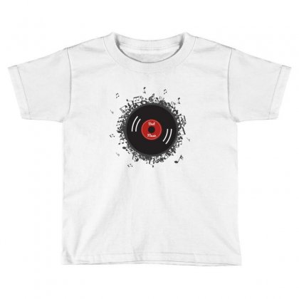 Dynamic Vinyl Record Toddler T-shirt Designed By Ande Ande Lumut