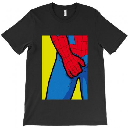 Spider Itch T-shirt Designed By Sarahzoepicture