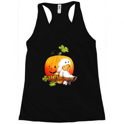 Halloween Baby Party Racerback Tank Designed By Ande Ande Lumut