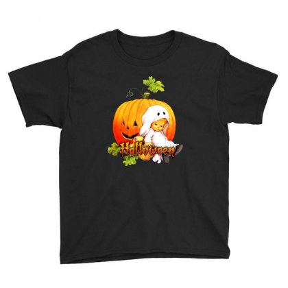 Halloween Baby Party Youth Tee Designed By Ande Ande Lumut