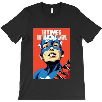 The Times They're A Changing T-shirt Designed By Sarahzoepicture