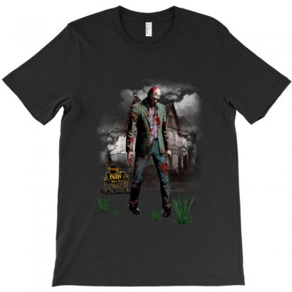 Halloween Zombie T-shirt Designed By Ande Ande Lumut