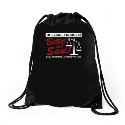 Better Call Ad Drawstring Bags Designed By Funtee