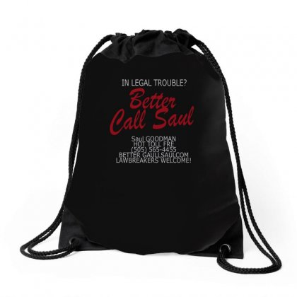 Better Call Saul Drawstring Bags Designed By Funtee