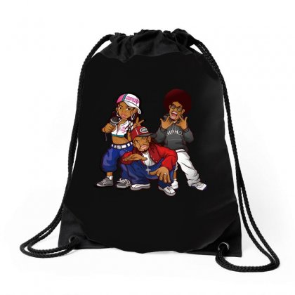 Hiphop Drawstring Bags Designed By Ande Ande Lumut