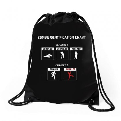 Zombie Identification Chart Drawstring Bags Designed By Sarahzoepicture