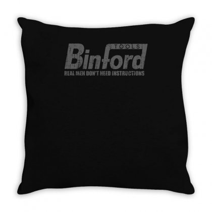 Binford Tools Throw Pillow Designed By Funtee