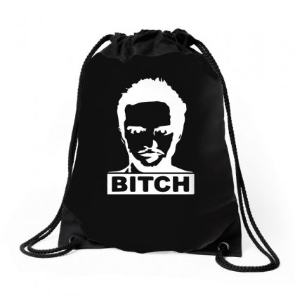 Bitch Drawstring Bags Designed By Funtee