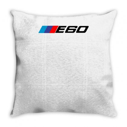 Bmw E60 Limousine M5 Throw Pillow Designed By Enjang