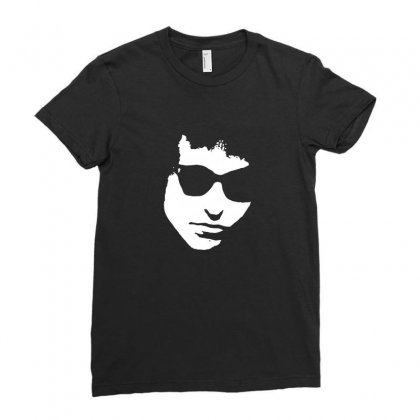 Bob Dylan Ladies Fitted T-shirt Designed By Enjang