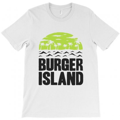 Burger Island T-shirt Designed By Sarahzoepicture