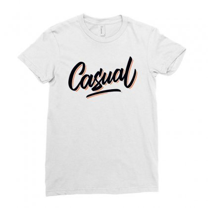 Casual Ladies Fitted T-shirt Designed By Hot Pictures