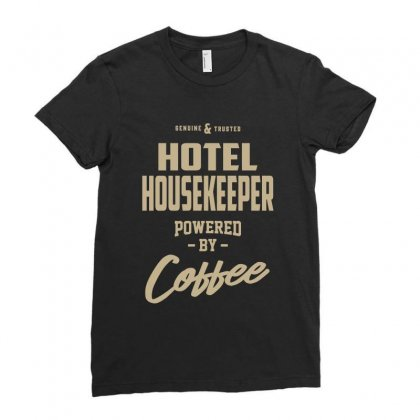 Hotel Housekeeper Ladies Fitted T-shirt Designed By Cidolopez
