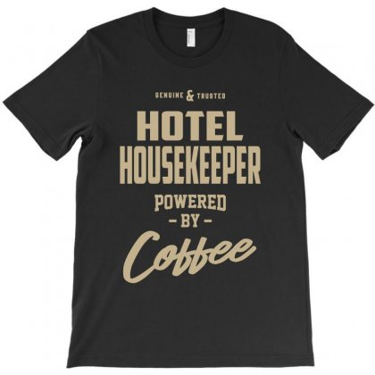 Hotel Housekeeper T-shirt Designed By Cidolopez