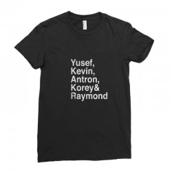 YKANKR Ladies Fitted T-Shirt | Artistshot