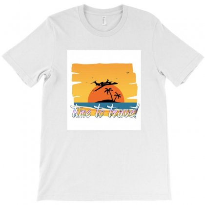 Time To Travel T-shirt Designed By Layzie