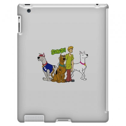 Scooby Doo Family Ipad 3 And 4 Case Designed By Pop Cultured