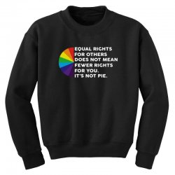 lgbt equal rights for others does not mean fewer rights for you it's Youth Sweatshirt | Artistshot