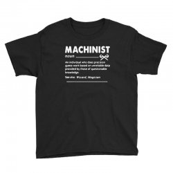 machinist definition noun Youth Tee | Artistshot