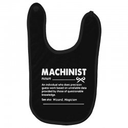 machinist definition noun Baby Bibs | Artistshot