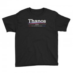 thanos 2020   make the universe balanced again Youth Tee | Artistshot