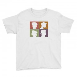 gorillaz   demon days (silhouette) Youth Tee | Artistshot