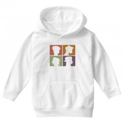 gorillaz   demon days (silhouette) Youth Hoodie | Artistshot
