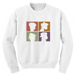 gorillaz   demon days (silhouette) Youth Sweatshirt | Artistshot
