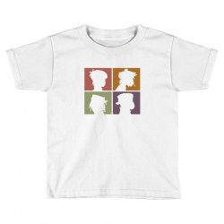 gorillaz   demon days (silhouette) Toddler T-shirt | Artistshot