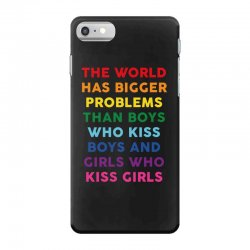the world has bigger problems iPhone 7 Case | Artistshot