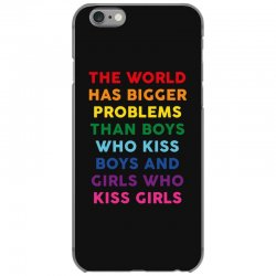 the world has bigger problems iPhone 6/6s Case | Artistshot