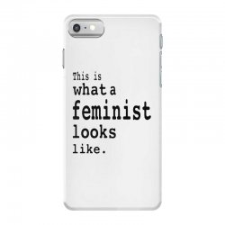 this is what  a feminist look like iPhone 7 Case | Artistshot