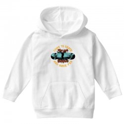 come to skate Youth Hoodie | Artistshot