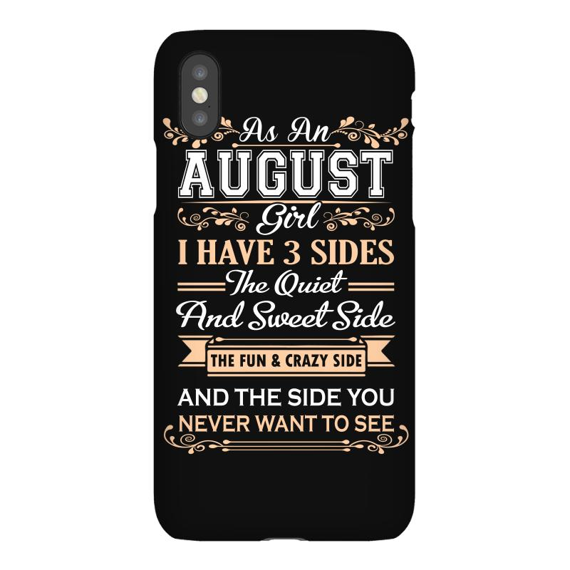 As An August Girl I Have Three Sides Iphonex Case | Artistshot