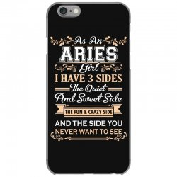as an aries girl i have three sides iPhone 6/6s Case | Artistshot