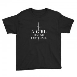a girl has no costume Youth Tee | Artistshot