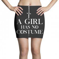 a girl has no costume Mini Skirts | Artistshot