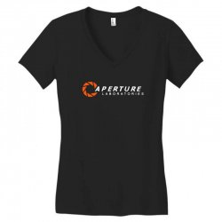 aperture laboratories Women's V-Neck T-Shirt | Artistshot