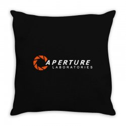 aperture laboratories Throw Pillow | Artistshot