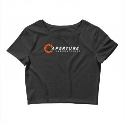 aperture laboratories Crop Top | Artistshot