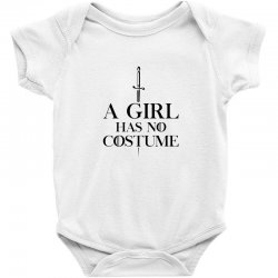 a girl has no costumeblack Baby Bodysuit | Artistshot